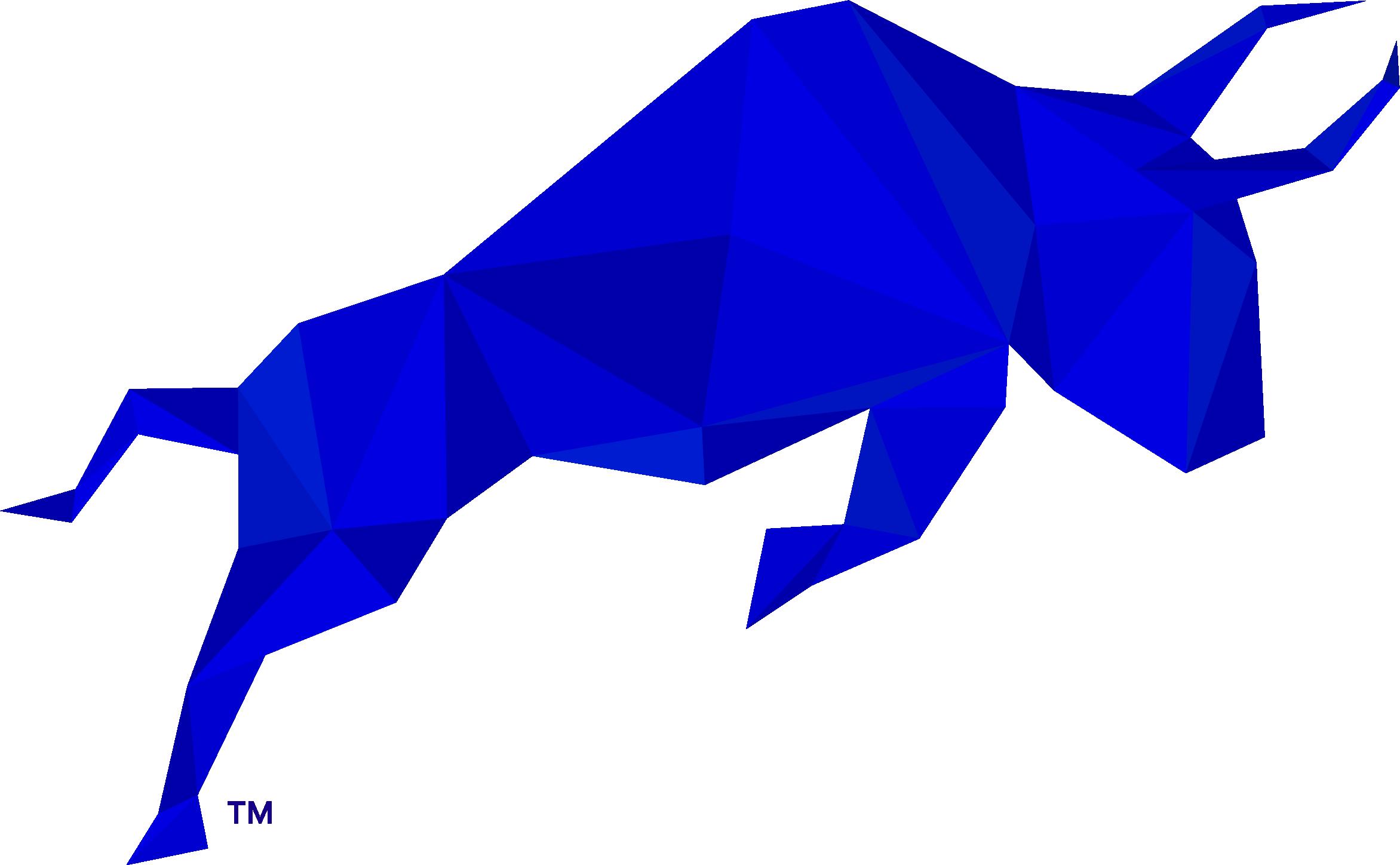 Polymath Blue Taurus Logo