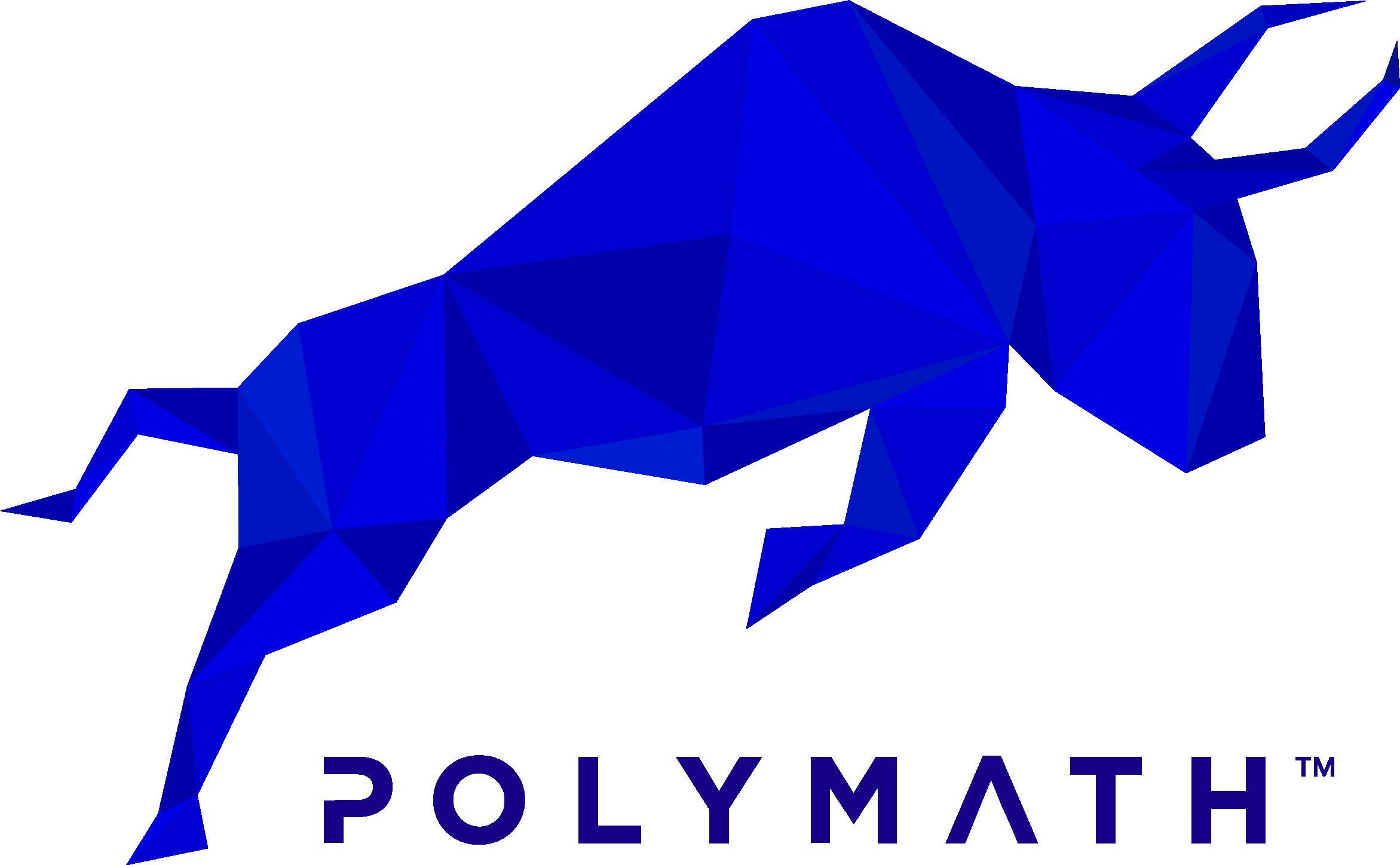 Polymath_Blue Taurus + Wordmark