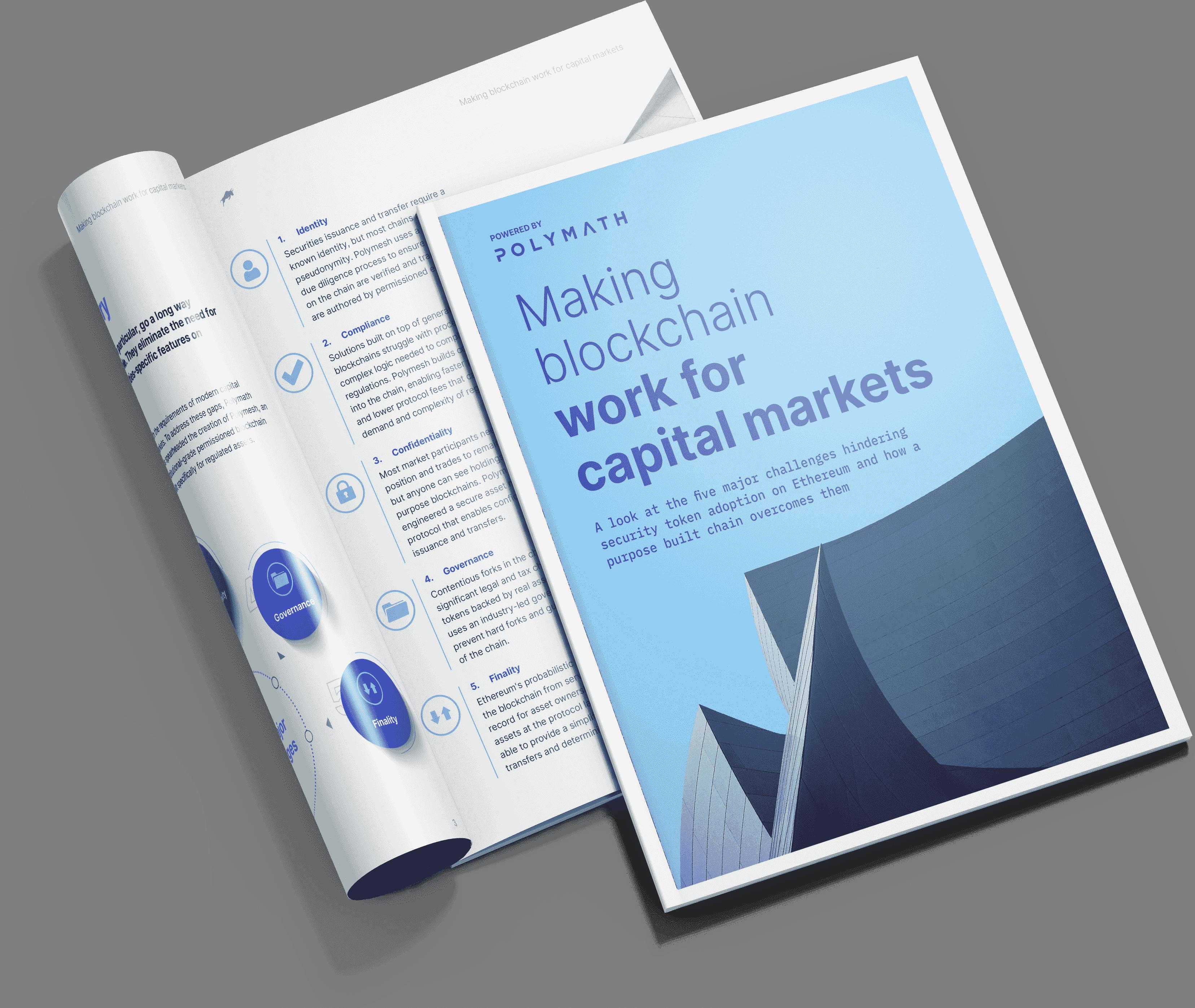 Making Blockchain Work for Capital Markets