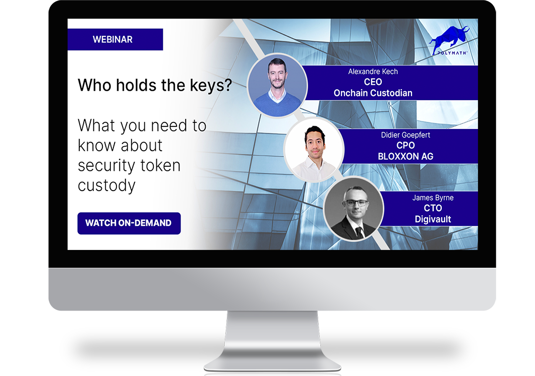 Who Holds the Keys? What You Need to Know About Security Token Custody