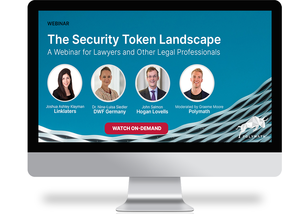 Security Token Landscape Webinar